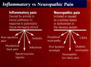 Inflammatory Pain Vs. Neuropathic Pain