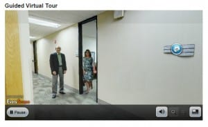 Guided virtual tour