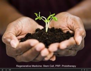 Regenerative Medicine, Stem Cell, PRP, Platelet Rich Plasma, Prolotherapy