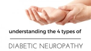 types of diabetic neuropathy