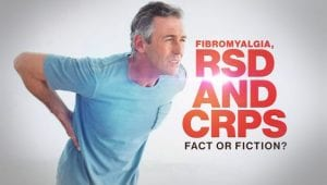 red cups fibromyalgia man in pain