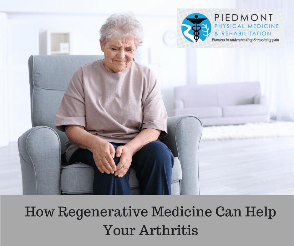 Regenerative Medicine for Arthritis Piedmont PMR